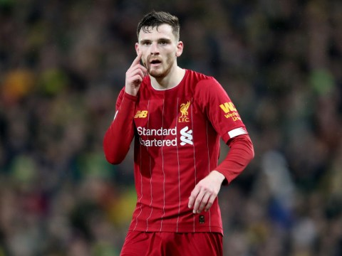 Liverpool star Andrew Robertson names the toughest Premier League opponent he's faced this season