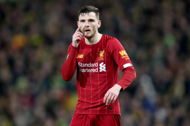 Andrew Robertson has cemented his reputation as one of European football's best full-backs