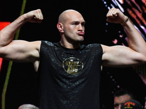 Tyson Fury calls out WWE's Drew McIntyre during workout video after Battle of Britain challenge