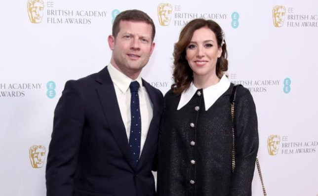 Dermot O'Leary and wife Dee