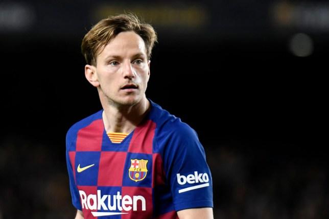 Ivan Rakitic insists he is 'very happy' at Barcelona