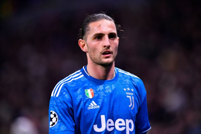Adrien Rabiot could leave Juventus after just one season