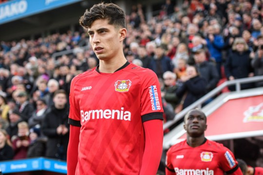 Chelsea, Manchester United and Liverpool all want to sign Havertz