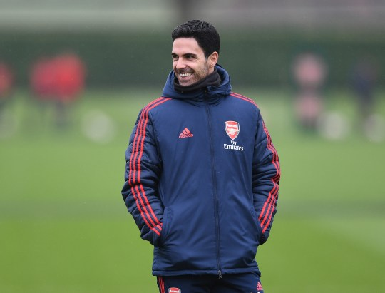 Arteta was impressed by Lewis (Picture: Getty)