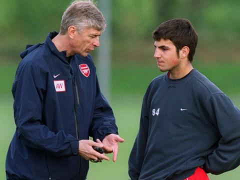 Cesc Fabregas reveals he upset Arsenal star Nwankwo Kanu in very first training session