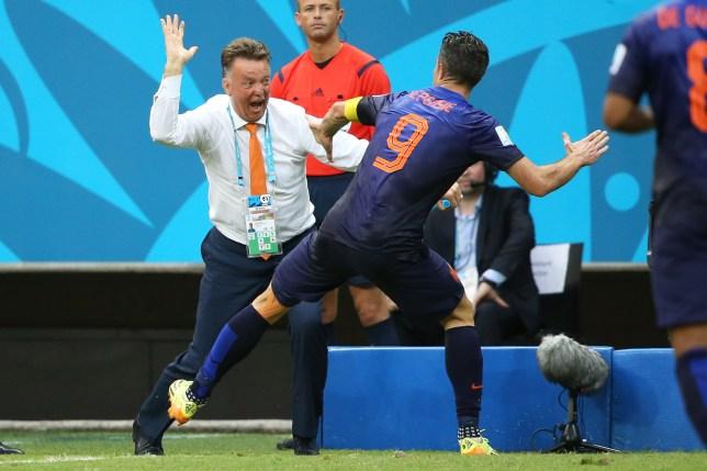 Robin van Persie reveals Louis van Gaal once slapped him