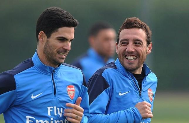 Santi Cazorla est prêt à faire partie du personnel d'entraîneurs de Mikel Arteta à Arsenal