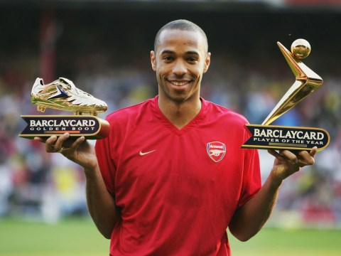 Thierry Henry reveals why he was 'embarrassed' after scoring hat-trick for Arsenal