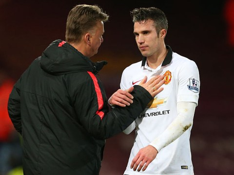 Ex-Manchester United striker Robin van Persie reveals Louis van Gaal once slapped him