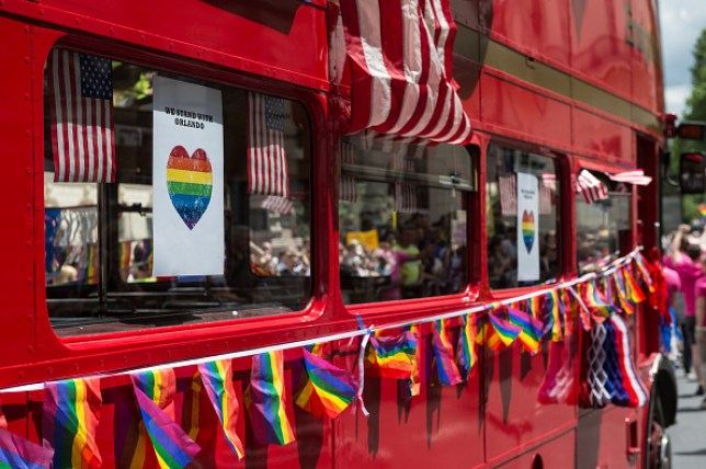 The LGBT Community Celebrates Pride In London