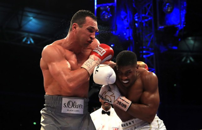 Wladimir Klitschko has not fought inside the ring since his defeat to Anthony Joshua in April 2017