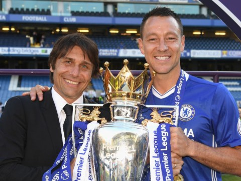 Antonio Conte pays special tribute to John Terry's final season at Chelsea