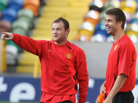 Wayne Rooney reveals the game that 'finished Gerard Pique's Manchester United career'