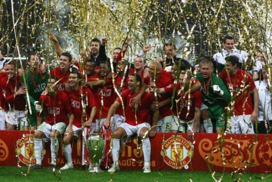 L'équipe de Ferguson a battu Chelsea en finale de la Ligue des champions 2008
