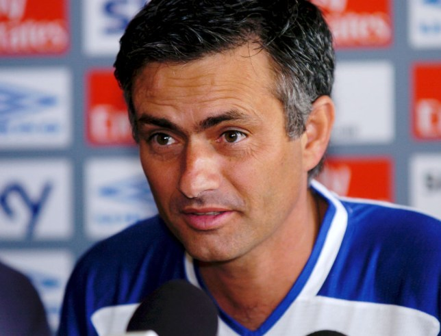 Jose Mourinho declared himself as the Special One during his first press conference (Picture: Getty)