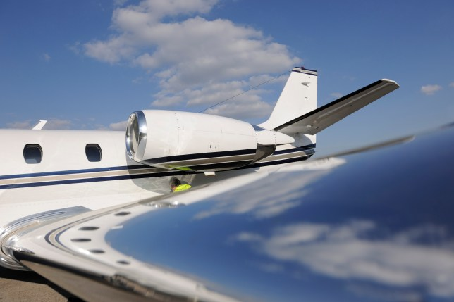 Between March 17 and April 14 there were 1,812 private planes which landed in the UK