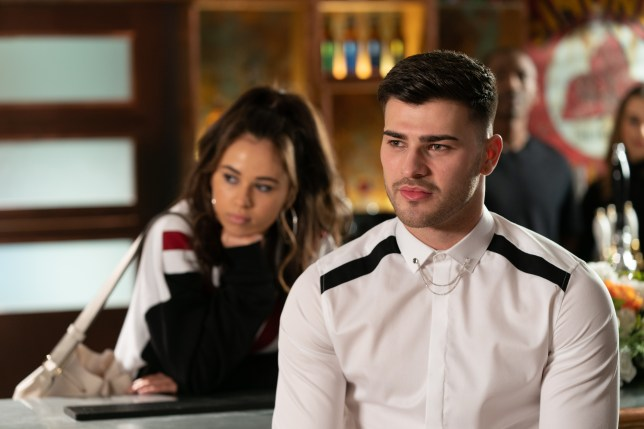 Cher and Romeo in Hollyoaks