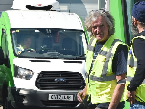 James May spotted driving van for local charity helping 'most vulnerable in society'