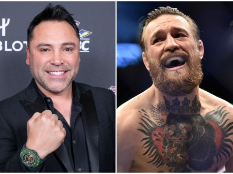 Conor McGregor responds to Oscar De La Hoya claiming he'd knock him out in two rounds