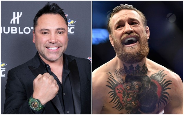 Oscar De La Hoya claims he could beat Conor MCGregor in two rounds