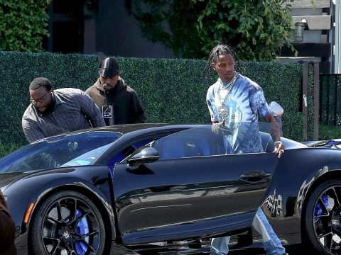 Travis Scott treats himself to 'seven figure' Bugatti for his birthday because why not?