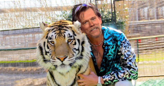 Kevin Bacon would really love to play Joe Exotic in a Tiger King movie
