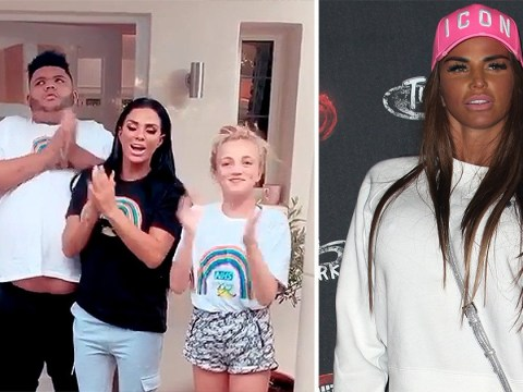 Katie Price recalls tearful reunion with children Junior and Princess during lockdown