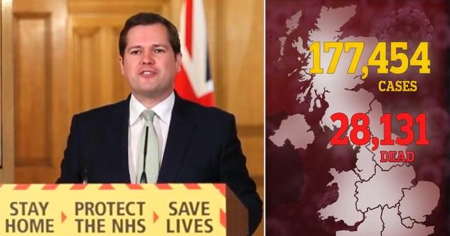 The UK coronavirus death toll has passed over 28,000