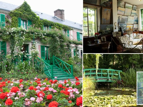 You can now take a virtual tour of Monet's colourful French house
