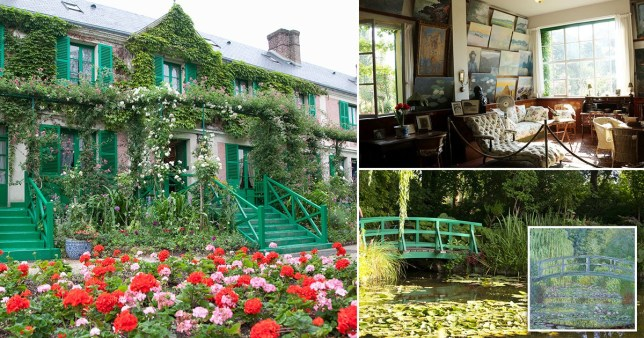 Monet's house in France