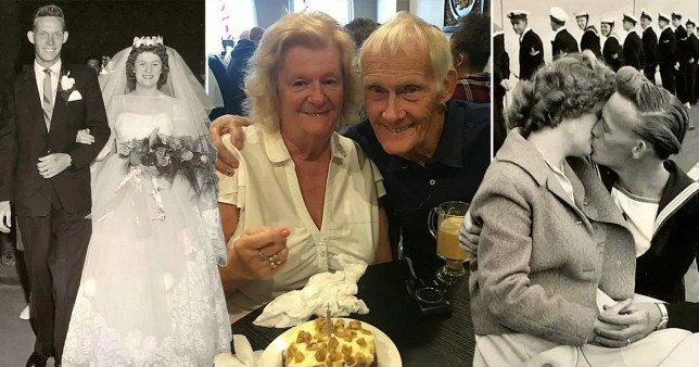 Shirley and Jack are celebrating 60 years of marriage