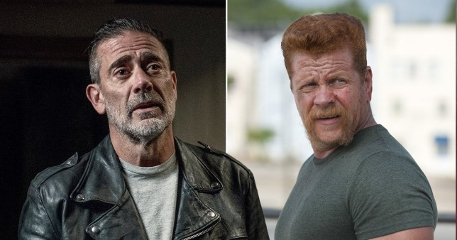 Negan and Abraham The Walking Dead