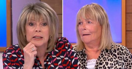 Ruth Langsford and Linda Robson