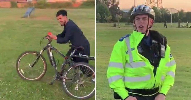 Teens taunt PCSO