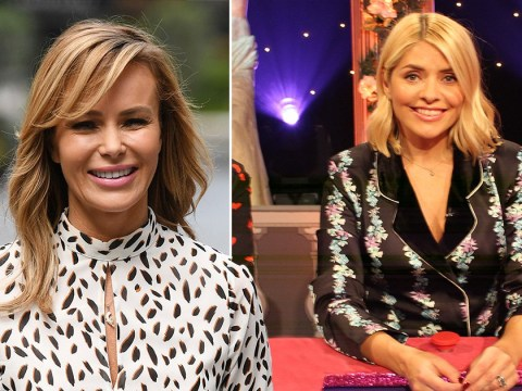 Amanda Holden would 'love' to replace Holly Willoughby on Celebrity Juice