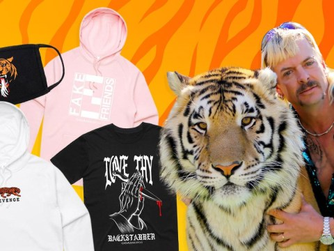 Tiger King's Joe Exotic launches wacky fashion range and it sells out in minutes