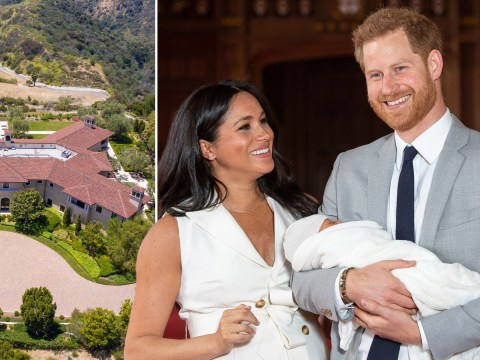 Harry and Meghan 'staying at LA mansion that would cost £200,000 a month to rent'