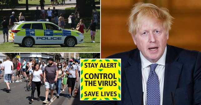 Boris Johnson drops 'stay at home' slogan and replaces it for 'stay alert'.