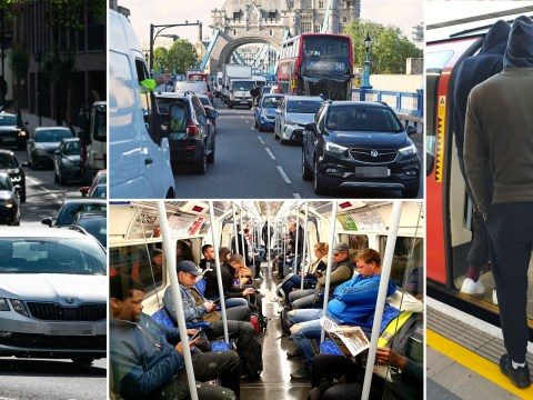 Tubes packed with commuters day after Boris tells people to go back to work