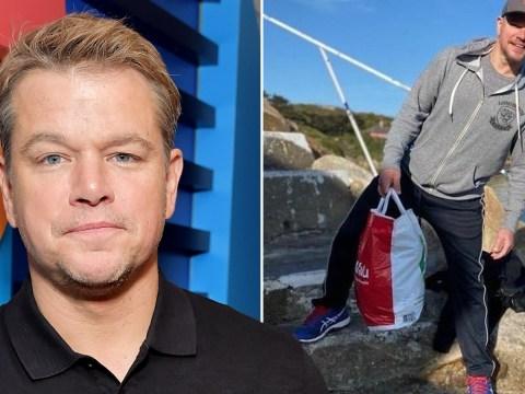 Matt Damon confirms daughter had coronavirus as he isolates in Dublin suburb