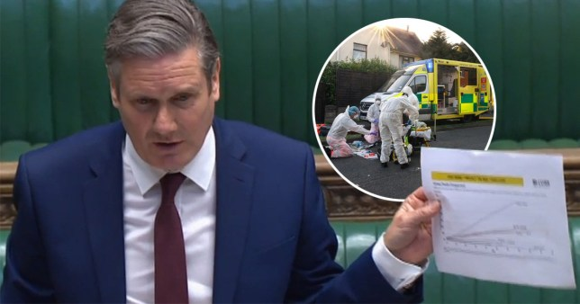 Starmer lays into Johnson over international death comparions
