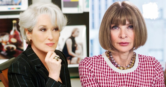 Meryl Streep and Anna Wintour