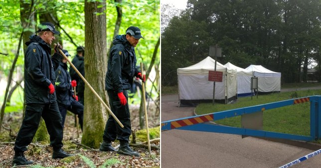 A man and a woman have been charged after human remains were fond in the Forest of Dean