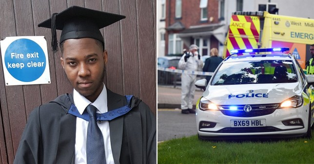 David Gomoh, who worked for the NHS in supplies and procurement, was killed just days before he was due to attend his father's funeral.