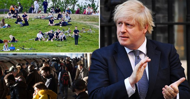 Boris Johnson wants the UK to return to 'near normality' by July (Picture: Getty Images)