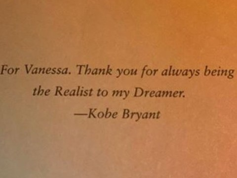 Vanessa Bryant shares late husband Kobe's sweet dedication to her in his book and adorable photo of daughter Capri