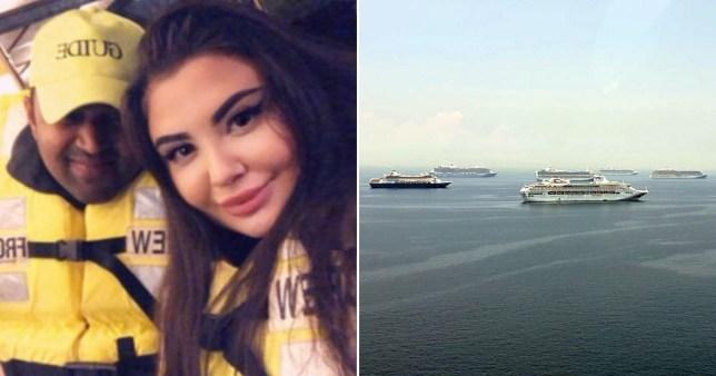 brit stuck on cruise ship