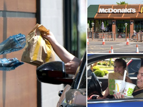McDonald's opens 30 more restaurants today for drive-thru only