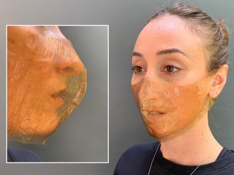 Designers create home-grown biodegradable face mask made from bacteria