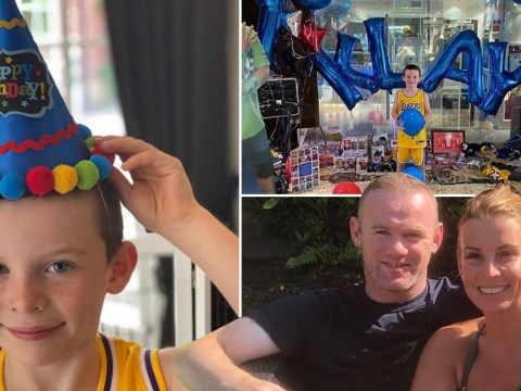 Wayne and Coleen Rooney gift son Klay mountains of presents for seventh birthday